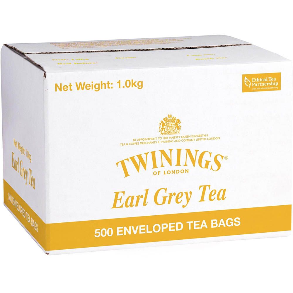 Image for TWININGS ENVELOPE TEA BAGS EARL GREY CARTON 500 from ONET B2C Store