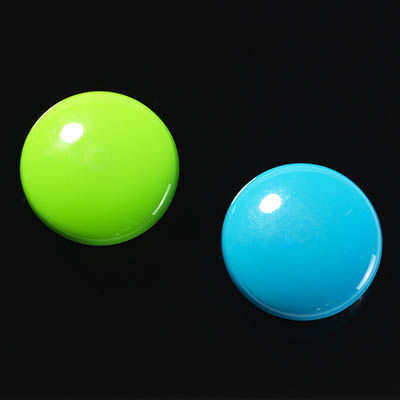 Image for NAGA GLASSBOARD SUPER STRONG MAGNETIC BUTTONS 30MM BLUE/GREEN PACK 2 from ONET B2C Store