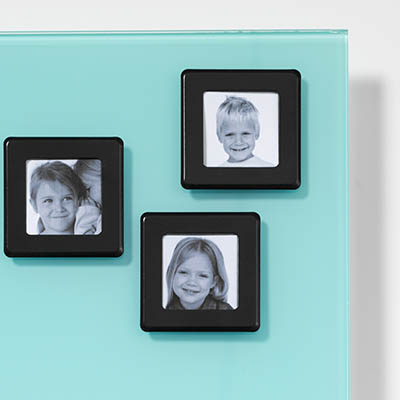 Image for NAGA GLASSBOARD SUPER STRONG MAGNETIC PHOTO FRAME 55 X 55MM BLACK from ONET B2C Store