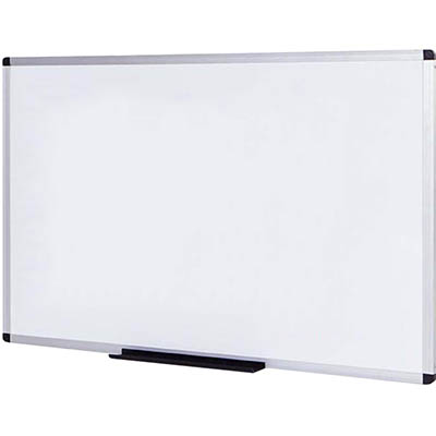 Image for INITIATIVE MAGNETIC WHITEBOARD ALUMINIUM FRAME 1200 X 900MM from York Stationers