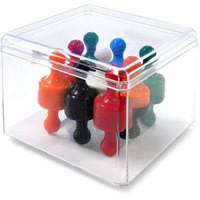 Image for VISIONCHART SUPER STRONG GLASSBOARD MAGNETIC SKITTLES ASSORTED PACK 18 from ONET B2C Store