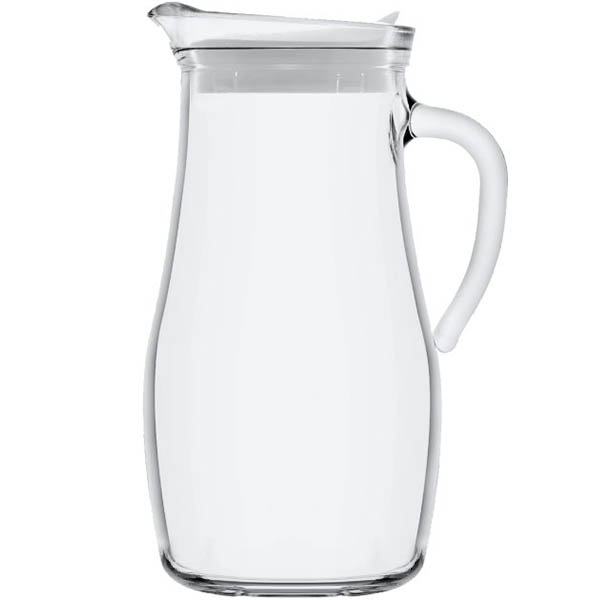 Image for LAV MISKET GLASS JUG 1.8 LITRE CLEAR from ONET B2C Store