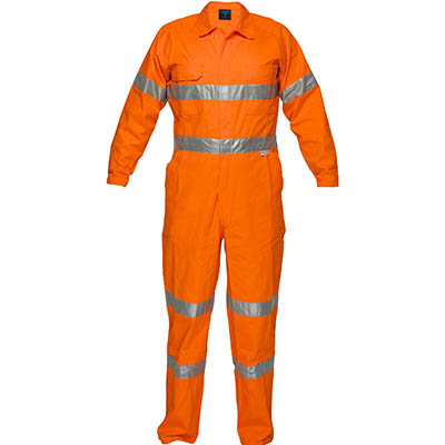 Image for PRIME MOVER MA922 LIGHTWEIGHT COVERALL WITH METAL STUD CLOSURE AND TAPE from Devon Office Products