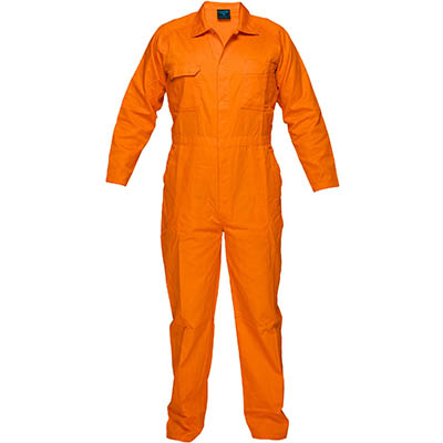 Image for PRIME MOVER MW922 LIGHTWEIGHT COVERALL WITH METAL STUD CLOSURE from Devon Office Products