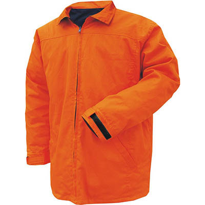 Image for PRIME MOVER MJ288 COTTON DRILL JACKET DAY/NIGHT WITH ZIP CLOSURE from Mercury Business Supplies