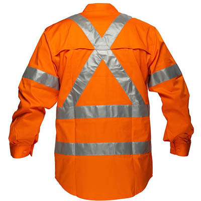Image for PRIME MOVER MX301 COTTON DRILL SHIRT LIGHTWEIGHT WITH CROSSBACK TAPE from BusinessWorld Computer & Stationery Warehouse
