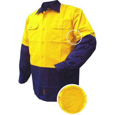 Image for PRIME MOVER MS801 COTTON DRILL SHIRT LONG SLEEVE LIGHTWEIGHT 2 TONE from BusinessWorld Computer & Stationery Warehouse