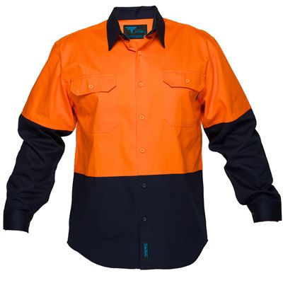 Image for PRIME MOVER MS901 COTTON DRILL SHIRT 2 TONE from BusinessWorld Computer & Stationery Warehouse