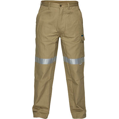 Image for PRIME MOVER MP701 COTTON DRILL PANTS WITH CARGO POCKETS AND TAPE from Devon Office Products