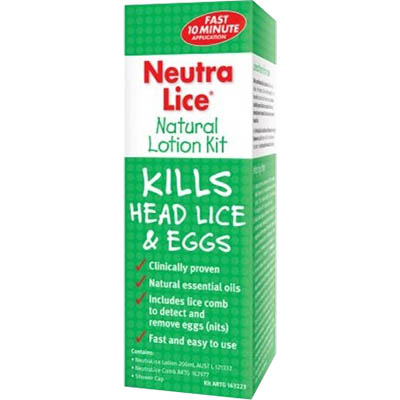 Image for NEUTRALICE NATURAL LOTION KIT 200ML from Office Heaven