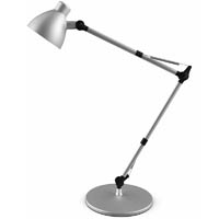 JASTEK LED LUMINAIRE OFFICE LAMP 5W 825MM SILVER