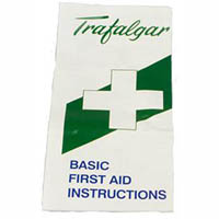 TRAFALGAR FIRST AID PAMPHLET/FOLDED