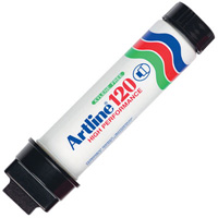 ARTLINE 120 PERMANENT MARKER CHISEL 20MM BLACK