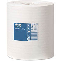 TORK M2 BASIC CENTREFEED PAPER TOWEL 1 PLY 200MM X 300M CARTON 6