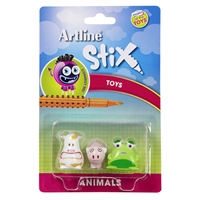 ARTLINE STIX TOYS ANIMALS PACK 3