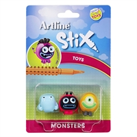 ARTLINE STIX TOYS MONSTERS PACK 3