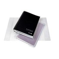 CONTACT BOOK SLEEVE A4 CLEAR
