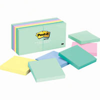 POST-IT 654-24APVAD NOTES 76 X 76MM ASSORTED MARSEILLE COLOURS VALUE PACK 24