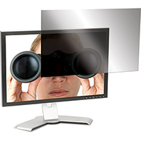3M PF20.1 PRIVACY SCREEN FOR WIDSCREEN DESKTOP LCD MONITOR 20.1 INCH