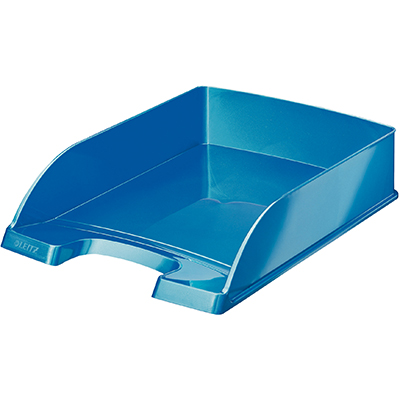 Image For Leitz Wow Letter Tray Blue From Office Supplies Australia