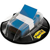 POST-IT 680-HVBE FLAGS VALUE PACK DESK DISPENSER 200 FLAGS BLUE
