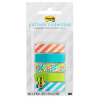 POST-IT 684-GEOS PATTERN FLAGS GEOS COLLECTION ASSORTED PACK 100