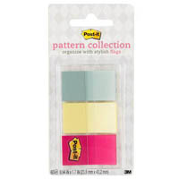 POST-IT 680-CANDY PATTERN FLAGS CANDY COLLECTION ASSORTED PACK 60