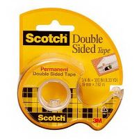 SCOTCH 237 DOUBLE SIDED TAPE ON DISPENSER 19MM X 7.6M