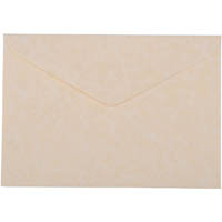 CUMBERLAND C6 PARCHMENT ENVELOPES 114 X 162MM NATURAL PACK 15