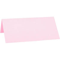 CUMBERLAND PEARLESCENT PLACE CARD PINK PACK 10