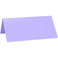 CUMBERLAND PEARLESCENT PLACE CARD VIOLET PACK 10