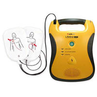 DEFIBTECH DEFIBRILLATOR LIFELINE AUTO AED INCLUDING 7 YEAR BATTERY