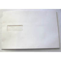 CUMBERLAND C5 ENVELOPES EXPANDABLE STRIP SEAL WINDOW FACE 162 X 229MM WHITE PACK 25