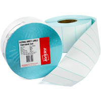 AVERY 937113 DIRECT THERMAL LABELS WITH PERFORATION 102X36MM ROLL 500