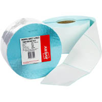 AVERY 937503 THERMAL ROLL LABEL 100 X 100MM PACK 1500