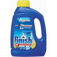 FINISH DISHWASHING POWDER CONCENTRATE LEMON 1KG BOTTLE