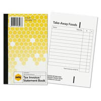 MARBIG TAX INVOICE STATEMENT BOOK 100 LEAF 125 X 200MM