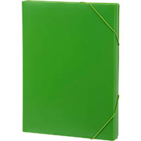 MARBIG DOCUMENT BOX A4 LIME
