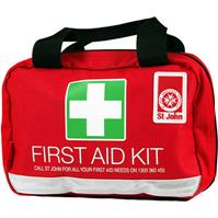 ST JOHN FIRST AID PERSONAL LEISURE KIT RED