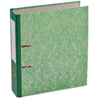 MARBIG LEVER ARCH FILE A4 GREEN MOTTLE