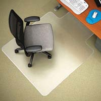 MARBIG CHAIRMAT ANTISTATIC KEYHOLE 1140 X 1340MM