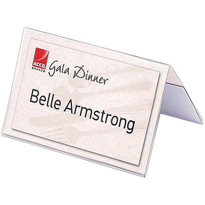 rexel name plates small 92 x 56mm pack 50 buzz solutions
