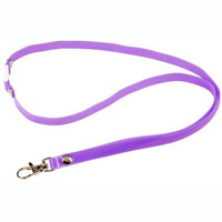 REXEL BREAKAWAY LANYARD SOFT TOUCH PURPLE
