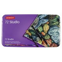DERWENT STUDIO PENCIL ASSORTED TIN 72