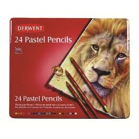 DERWENT PASTEL PENCIL ASSORTED TIN 24