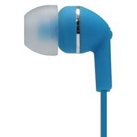 MOKI NOISE ISOLATION EARBUDS WITH MICROPHONE AND CONTROL BLUE