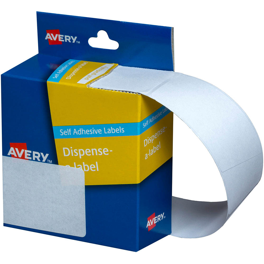 Avery 937223 General Use Labels 44 X 63Mm White Box 150