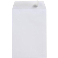 CUMBERLAND DL ENVELOPES POCKET 80GSM STRIP SEAL 110 X 220MM WHITE BOX 500