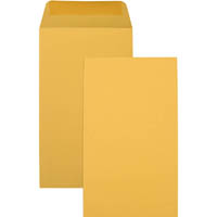 CUMBERLAND P6 ENVELOPES SEED POCKET PLAINFACE MOIST SEAL 85GSM 135 X 80MM GOLD BOX 1000