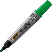 BIC MARKING 2000 ECOLUTIONS PERMANENT MARKER BULLET TIP GREEN